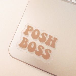 Posh Boss Sticker